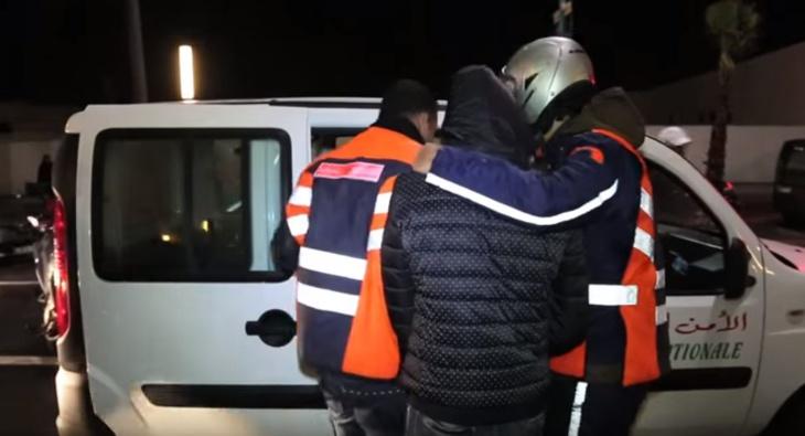عناصر الأمن توقف مختلا عقليا شرمل إماما داخل مسجد