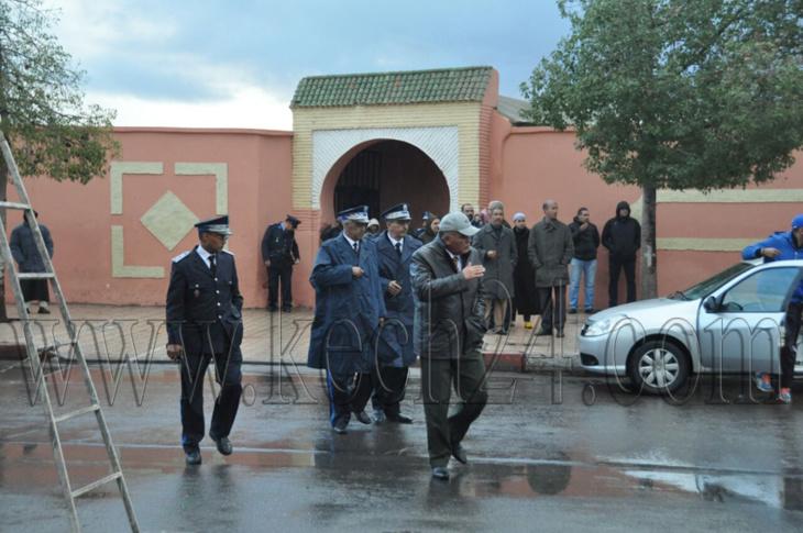 وفاة شقيقة الحارس الشخصي للملك محمد السادس بمراكش + صور