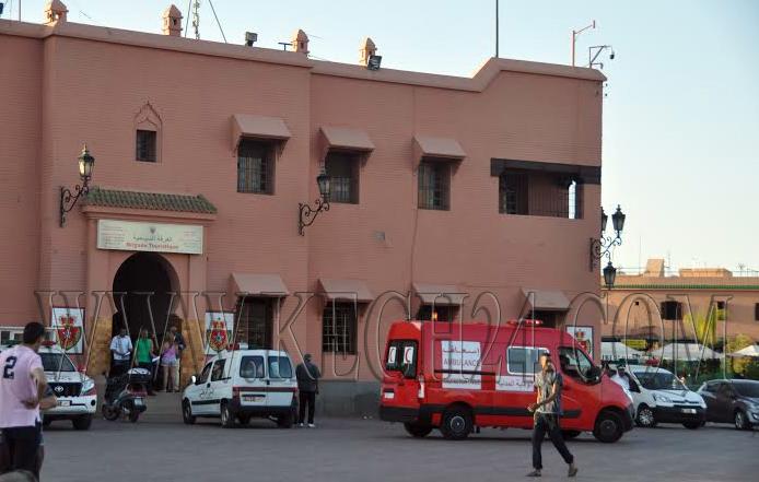 انفراد: عناصر الشرطة السياحية تعتقل مجرما بعد لحظات من سرقته محفظة سائحة بمراكش