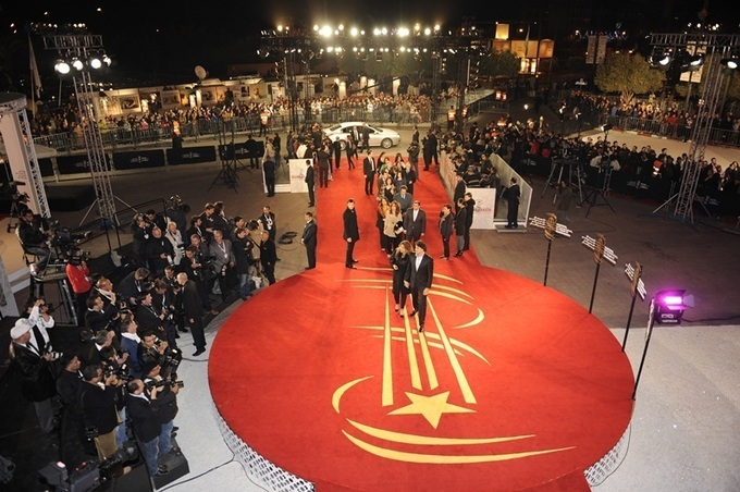 بلال مرميد يوجه الكلام للحالمين بفيلم مغربي في مهرجان مراكش