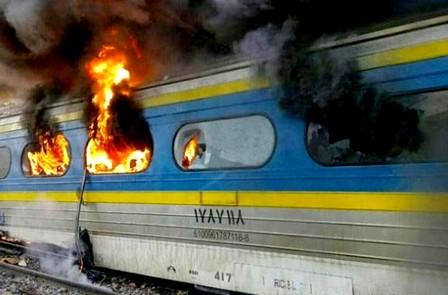 قتلى وجرحى في حادث اصطدام مروع بين قطارين