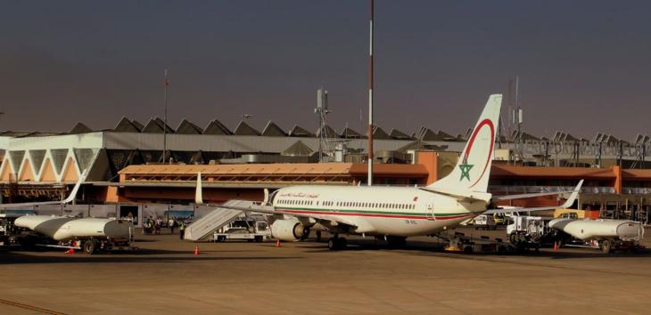 انخفاض حركة المسافرين بمطار مراكش المنارة مند بداية 2016