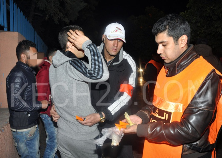 عناصر الدائرة الأمنية الرابعة تعتقل تاجر مخدرات قرب ساحة جامع الفنا بمراكش