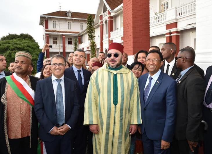 الملك محمد السادس يخص وسائل إعلام مدغشقر بحوار صحافي