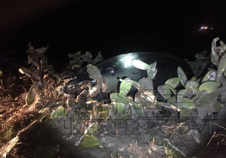 بثر ساق عون سلطة وكسر رجل زميله في حادثة سير باليوسفية + صور