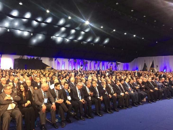 رئيس جهة مراكش أحمد أخشيشن يمثل البام في مؤتمر تيار المستقبل بلبنان