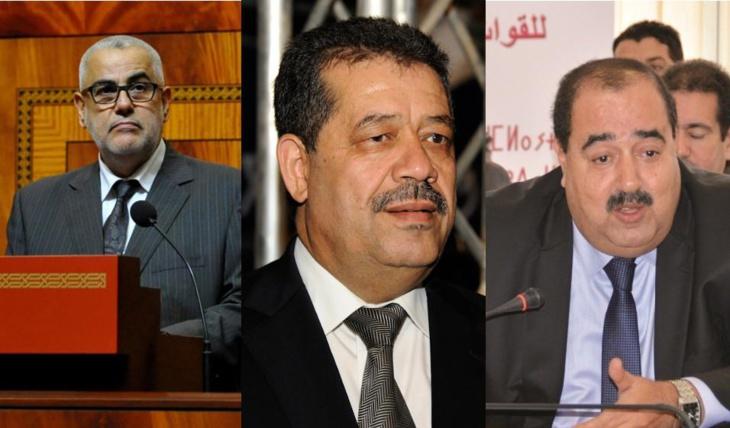 التشكيلة الحزبية لحكومة بنكيران الثانية