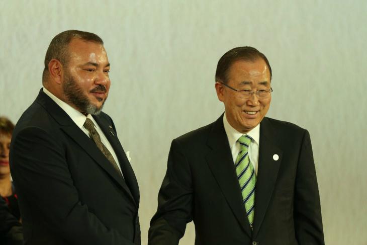 الملك يراسل الامم المتحدة بمناسبة اليوم العالمي للتضامن مع الشعب الفلسطيني