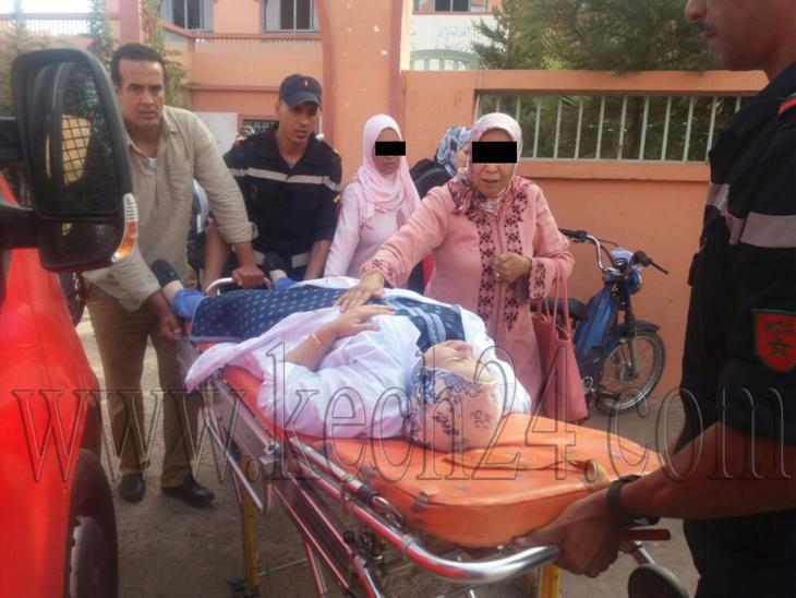 وقفة احتجاجية أمام إبتدائية مراكش تزامنا مع محاكمة الأب المتهم باقتحام مدرسة والإعتداء على أستاذات