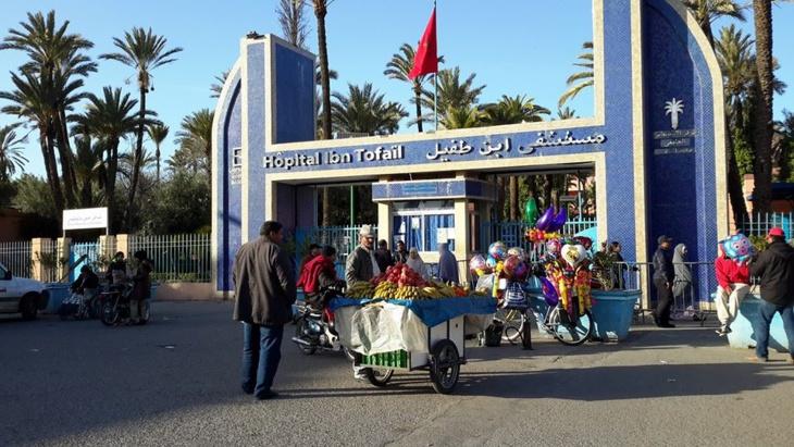 إمام مسجد يلفظ أنفاسه الأخيرة بمستشفى إبن طفيل بمراكش جراء إصابته في حادثة سير