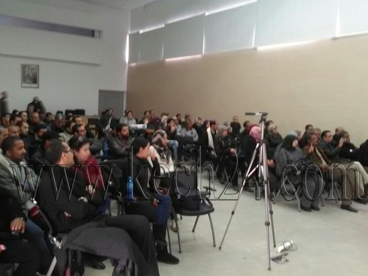 تداعيات المؤتمر الوطني الثامن تجمع فدراليو الصحة بالجهة في مراكش + فيديو