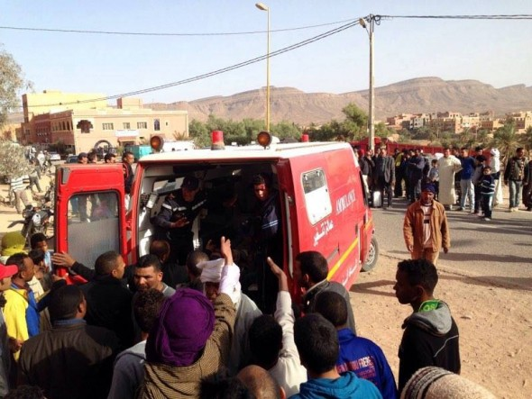 قتيلان في حادثة سير بإقليم تنغير