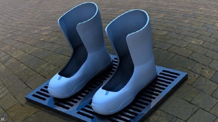 الكشف عن أحذية تدفئ الأقدام قريبا في المناطق الباردة