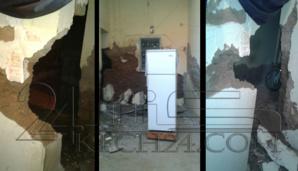 انهيار منزل بحي أكيوض بمقاطعة جليز بمراكش + صور