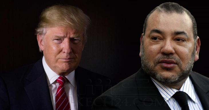 الملك محمد السادس يجري مباحثات هاتفية مع الرئيس الأمريكي المنتخب دونالد ترامب