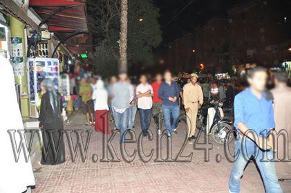 السلطة المحلية تشن حملة لتحرير الملك العمومي بشارع الداخلة بمراكش + صور