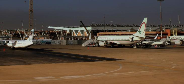 مطار محمد الخامس يتصدر قائمة حركة النقل الجوي متبوعا بمطار مراكش
