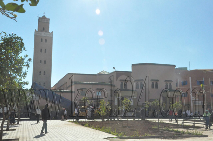 بهذا المسجد سيؤدي الملك محمد السادس صلاة الجمعة بسيدي يوسف بن علي بمراكش + صورة