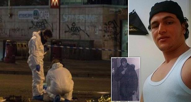 مقتل أنيس عمري منفذ هجوم الدهس بواسطة شاحنة في برلين