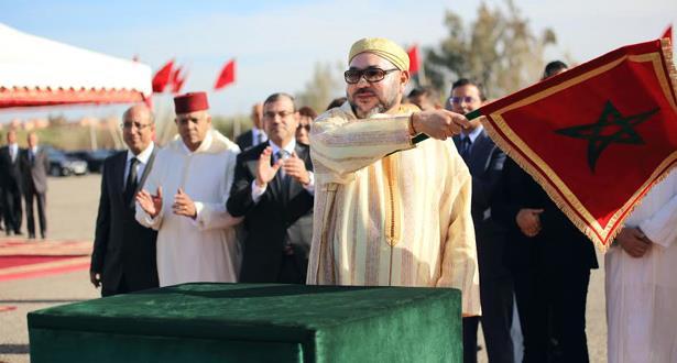 الملك محمد السادس يعطي انطلاقة أشغال تهيئة تجزئة