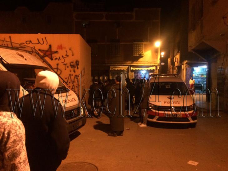 مواجهة عنيفة بين تجار مخدرات بحي سيدي يوسف بن علي بمراكش + صور
