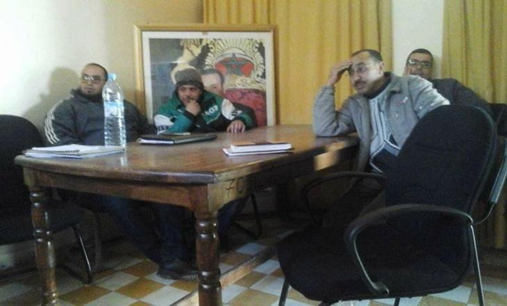 مستشارون بامنتانوت يعتصمون داخل مقر الجماعة ويتتهمون باشا المدينة بالتواطؤ مع الرئيس
