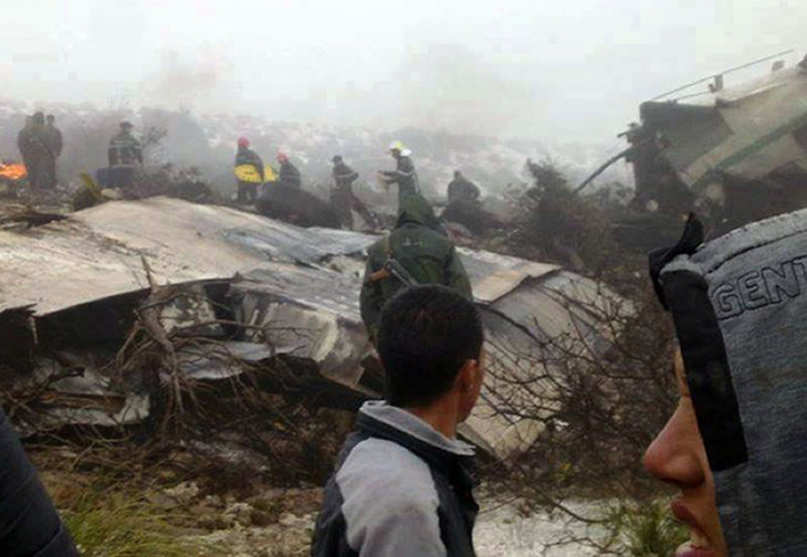 تحطم طائرة عسكرية روسية متجهة الى سوريا على متنها 91 شخصا