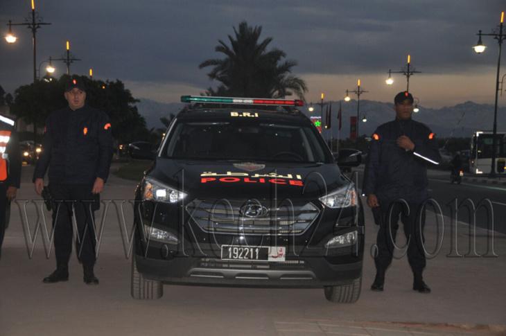 بالصور: هكذا يستعد أمن مراكش لمواكبة احتفالات نهاية السنة الميلادية