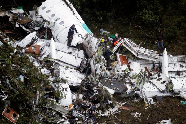 خطأ بشري وراء تحطم طائرة الفريق البرازيلي فوق سماء كولومبيا