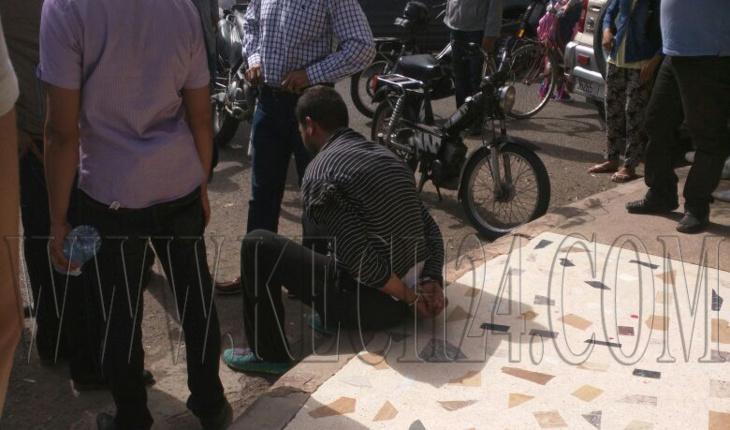 عاجل: مواطنون يتمكنون من إيقاف لصين نفذا عملية سرقة بحي جيليز بمراكش