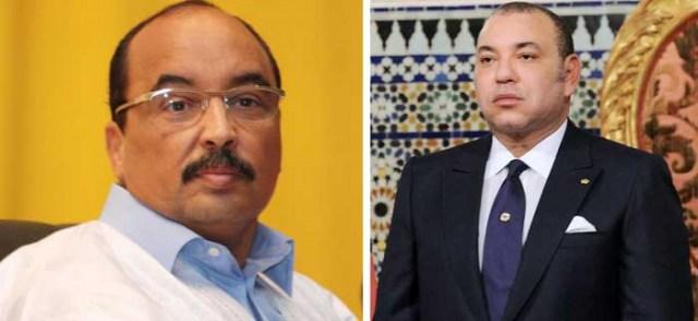 هذا ما قاله الملك محمد السادس لرئيس موريتانيا في إتصال هاتفي بينهما