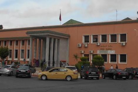 عاجل: إحتجاجات تشل محكمة الإستئناف بمراكش