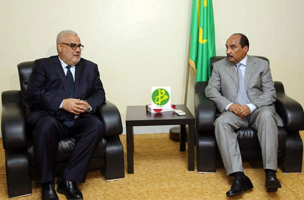 بالصور: كواليس مثيرة من أجواء زيارة بن كيران لموريتانيا ولقائه بالرئيس عبد العزيز