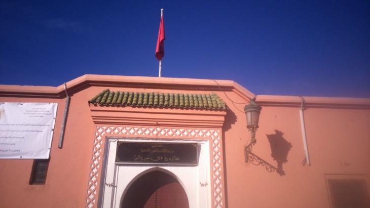 جمعية مكتري أملاك أحباس مراكش تنظم وقفة احتجاجية للتنديد بممارسات نظارة الأوقاف