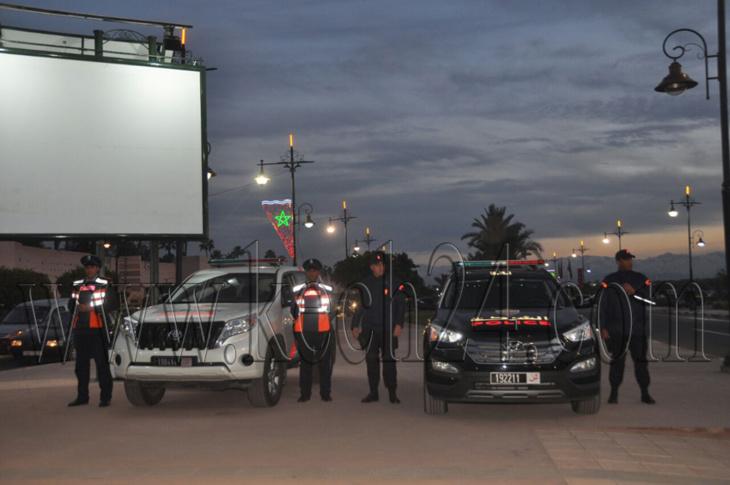 تعزيزات أمنية بمراكش لتأمين الإحتفالات بمطلع السنة الميلادية الجديدة