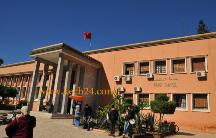 عاجل: جنايات مراكش تنطق بأحكامها في قضية