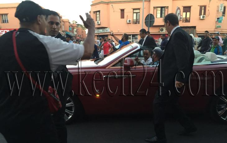 الملك محمد السادس يستقبل السنة الميلادية الجديدة بمراكش
