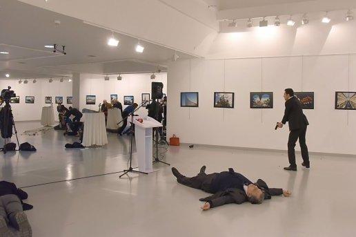"""""""البسيج"""" يعتقل خياطا بتهمة الإشادة بمقتل السفير الروسي"""