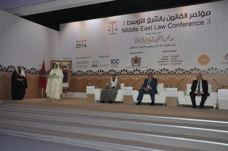 مؤتمر القانون بالشرق الأوسط بمراكش يشدد على أهمية مكافحة الإرهاب الفكري