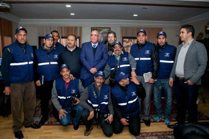 نادي المصور الصحفي يلتقي والي الأمن استعدادا لمواكبة احتفالات رأس السنة بمراكش + صور