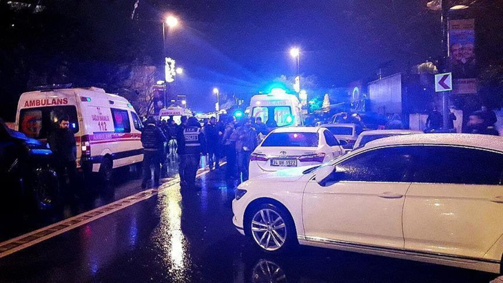 35 قتيلا في هجوم النادي الليلي بإسطنبول
