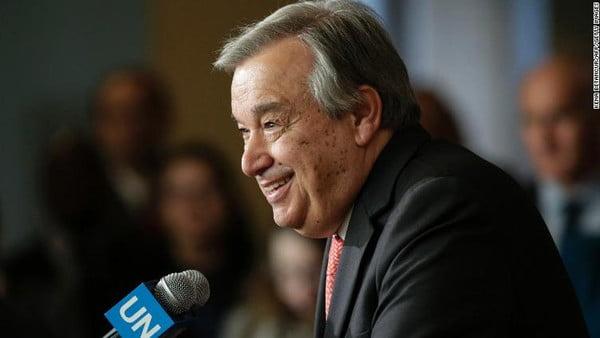 انطونيو غوتيريس يتسلم مهام الأمين العام للأمم المتحدة، ويلقي أول خطاب رسمي له