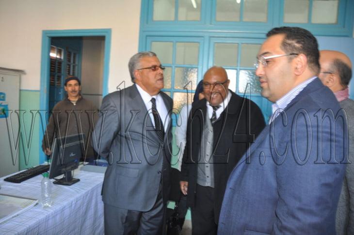المركز الصحي الملاح بمراكش يفتح أبوابه من جديد في وجه المواطنين + صور