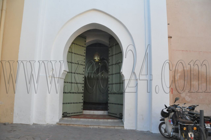 بهذا المسجد سيؤدي الملك محمد السادس صلاة الجمعة بمراكش + صور