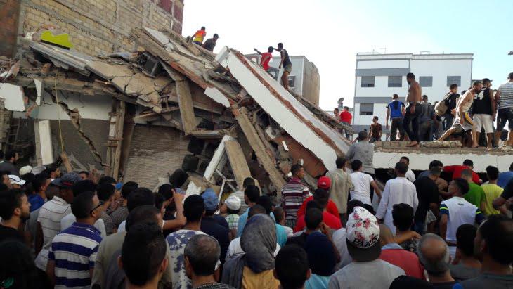 تأجيل النظر في ملف انهيار عمارة مقاطعة سباتة
