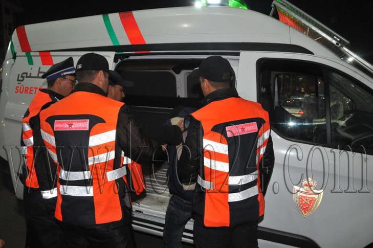 اعتقال لصوص بعد تورطهم في ارتكاب سلسلة من السرقات من داخل السيارات