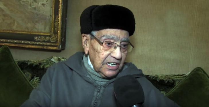 نقل المناضل المراكشي الاستقلالي امحمد بوستة الى المستشفى العسكري بالرباط