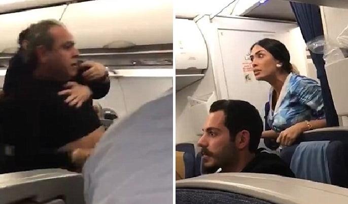 ركاب يحولون طائرة لبنانية لـ
