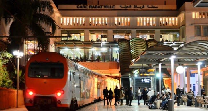 اضطراب حركة سير القطارات نتيجة عمل تخريبي