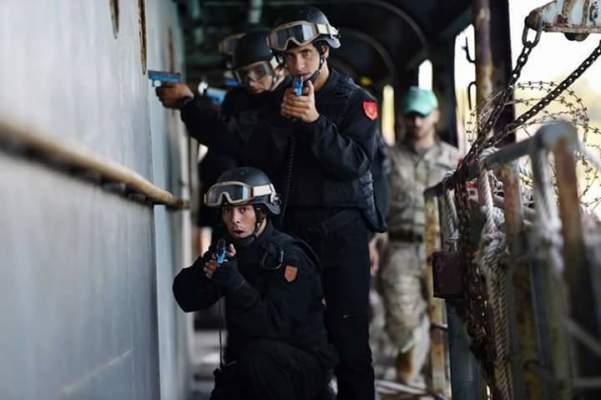 قوات أمنية مغربية تجري تدريبات مشتركة مع القوات الأميركية الخاصة في كاليفورنيا